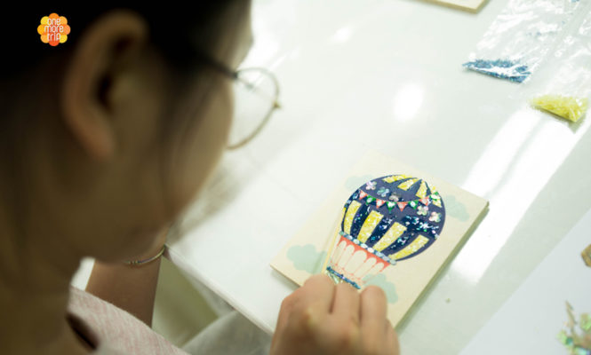 DIY Mother of Pearl Craft Experience in korea