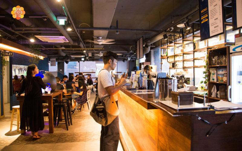 language exchange cafe in gangnam