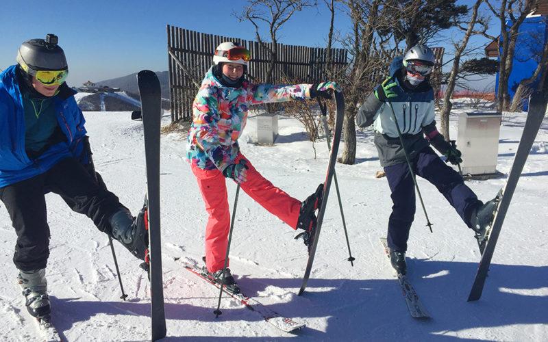 ski-lesson in vivaldi park