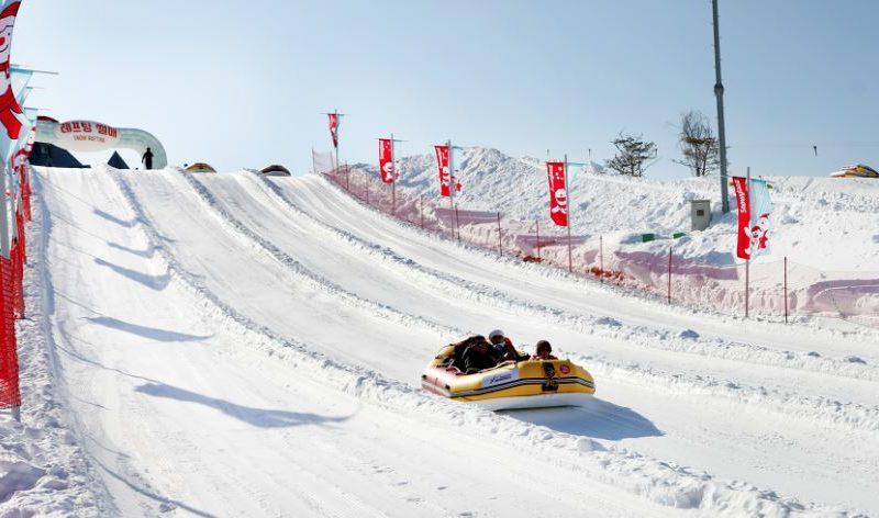 snowy-land sled tube