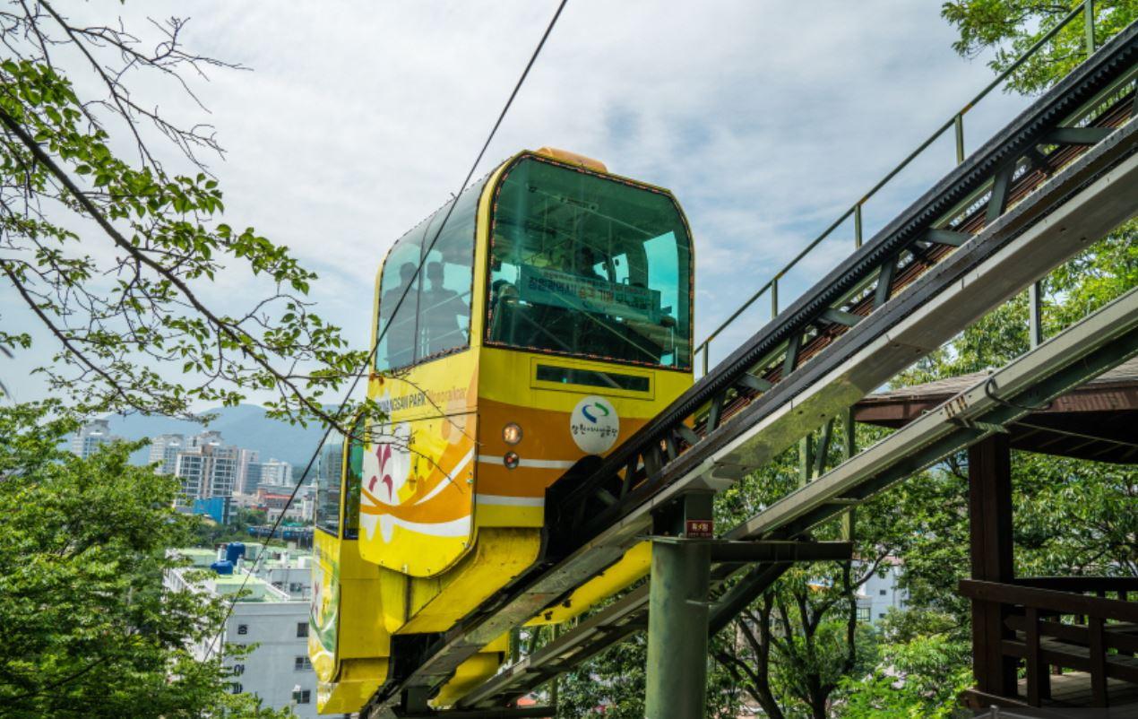 jehwangsan park monorail