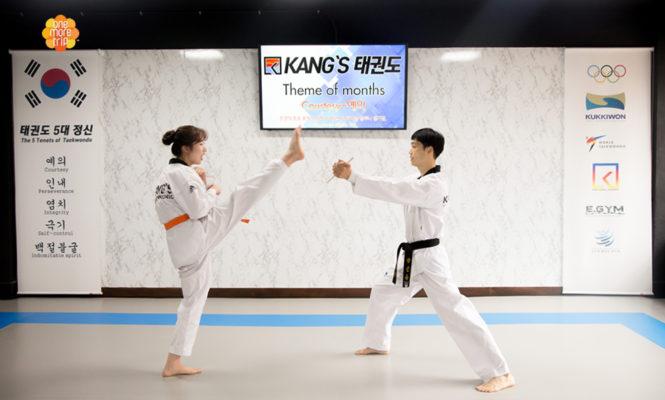 Taekwondo Experience in korea