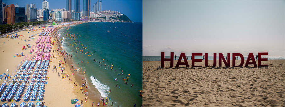Haeundae Beach photo spot day tour