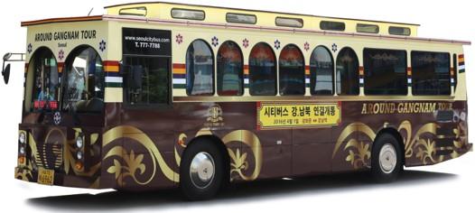 gangnam city tour bus