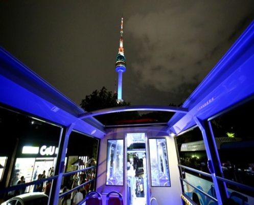 Night-Course seoul city tour bus view