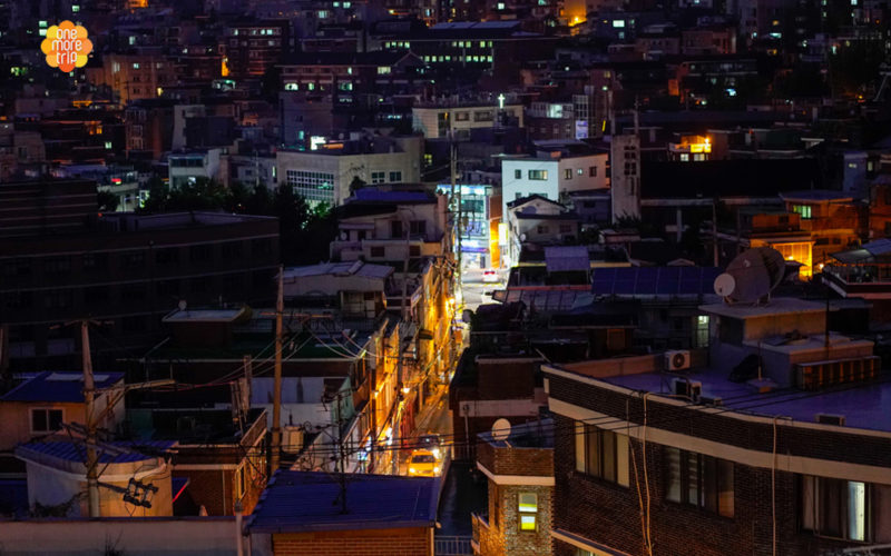 Guesthouse night view