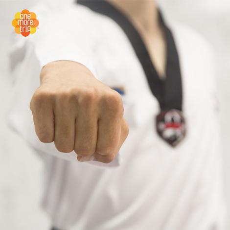 Taekwondo punch
