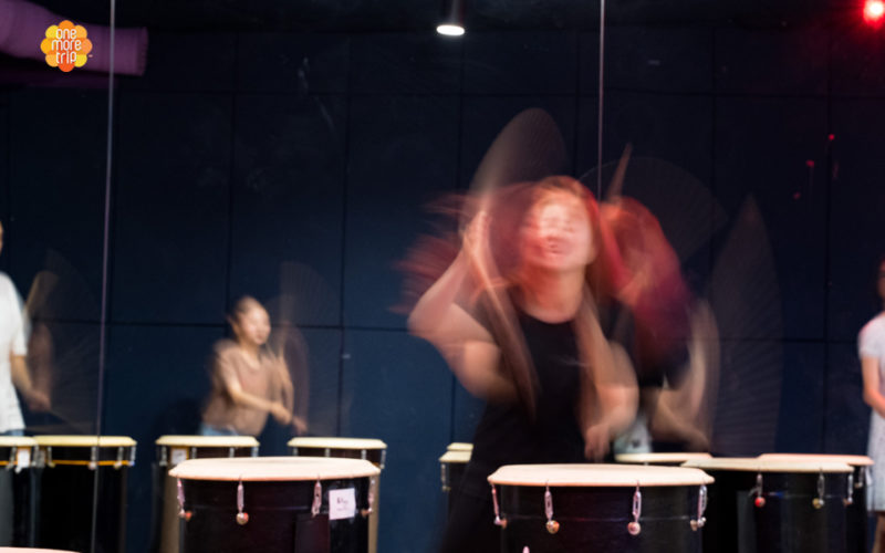 Nanta Drum Experience performing