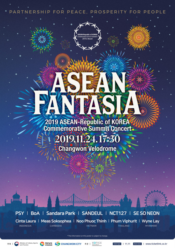 2019-ASEAN-Commemorative-Summit-Concert-in-Changwon-City-poster