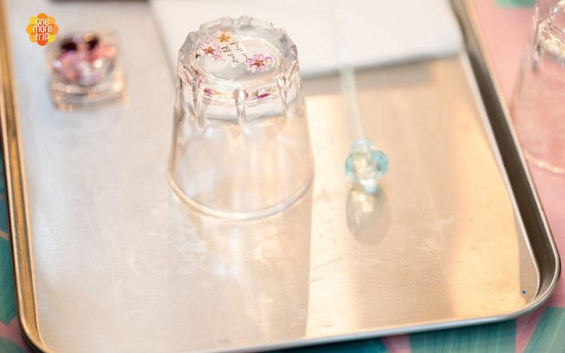 soju glass decorating