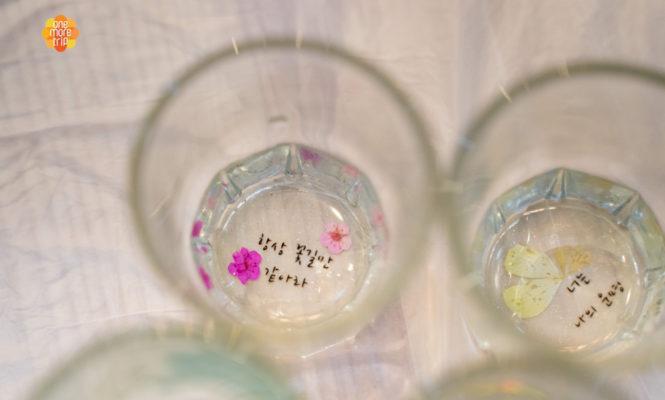 soju glasses designs