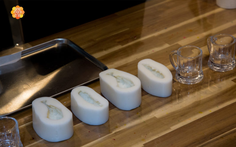 beer candle set mold