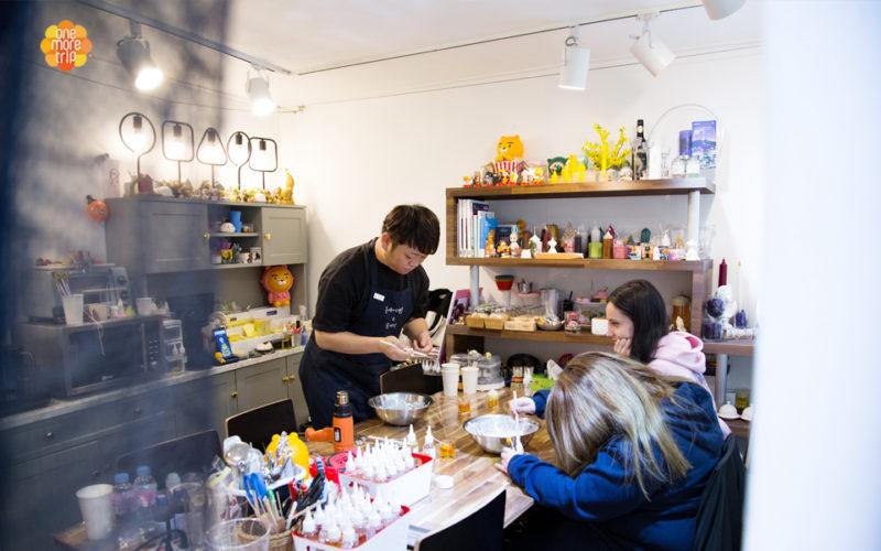 beer candle workshop