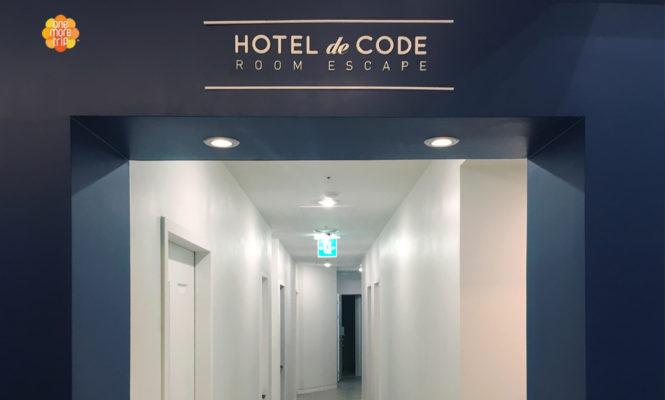 escape room entrance