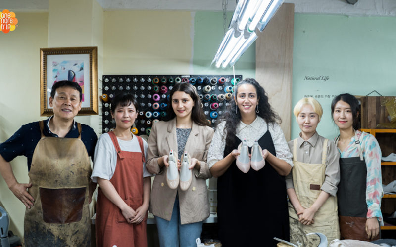 shoe making participants
