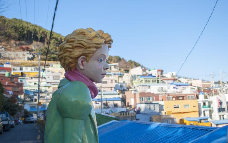 gamcheon culture village petit prince