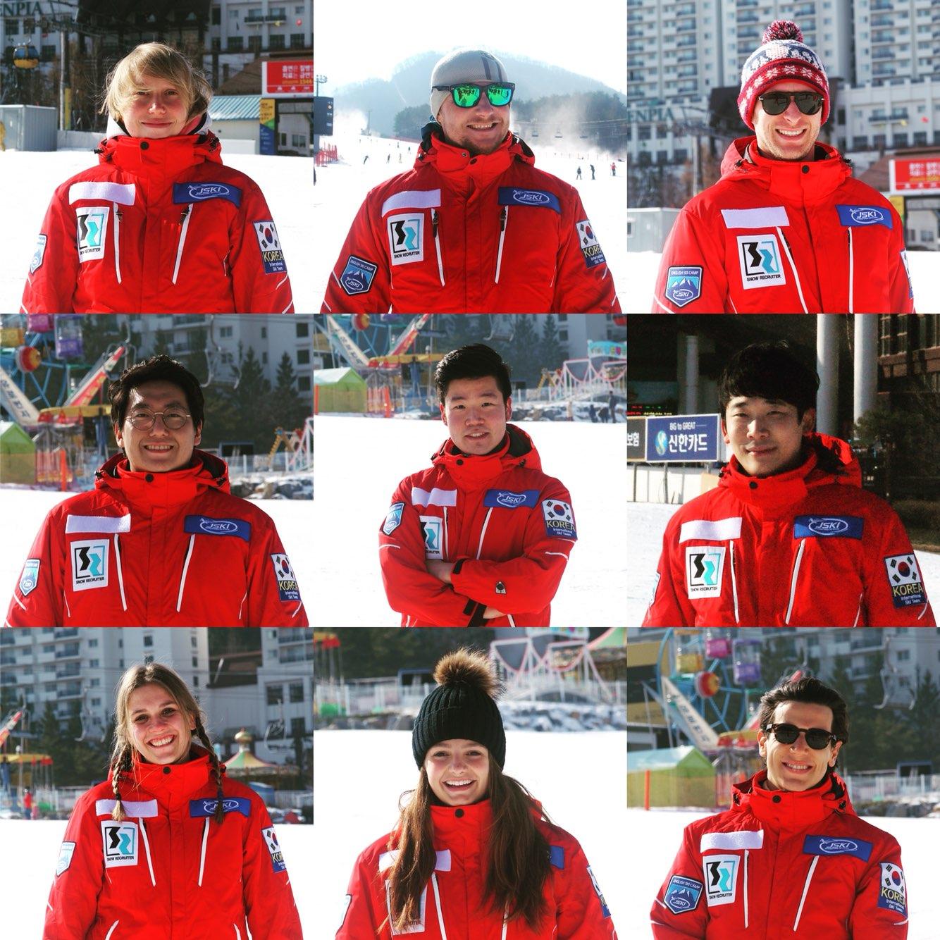 Alpensia ski snowboard lesson