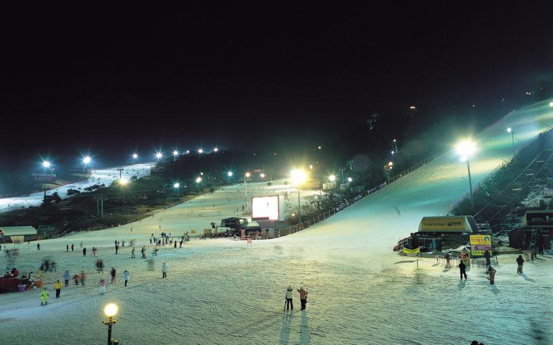daemyeong ski resort slope