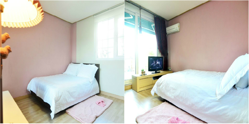 collage bedroom