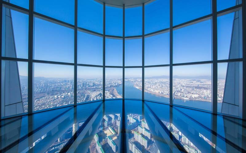 lotte tower sky deck