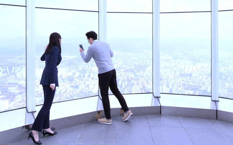 lotte tower 120 floor sky terrace