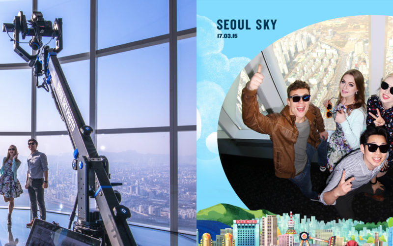lotte tower photo zones