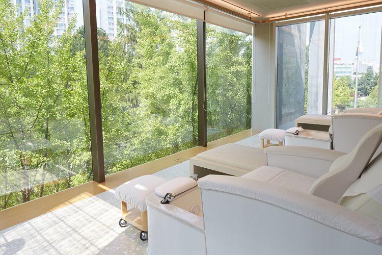 sulwhasoo balance spa room view