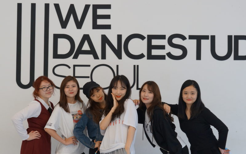 weflexdance girls group photo