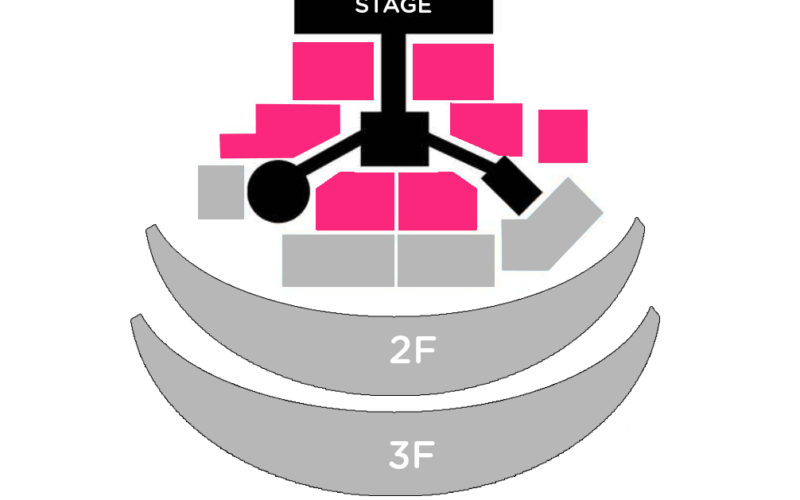 golden disc seat map