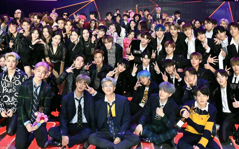 seoul music awards 2019 group photo