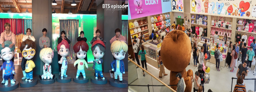 bts pop up store in seoul house of bts tour