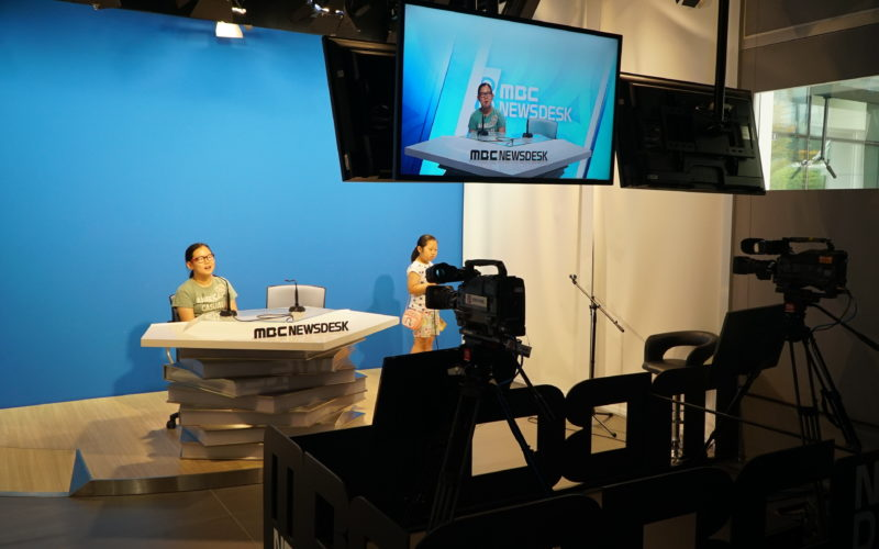 MBC news desk experience