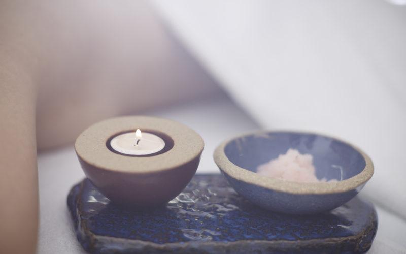 AHC candle bath salt