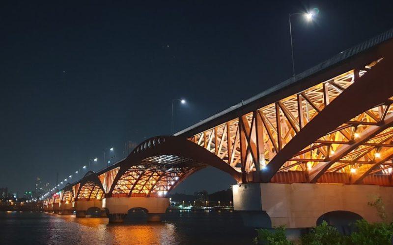 Bridge hangang river