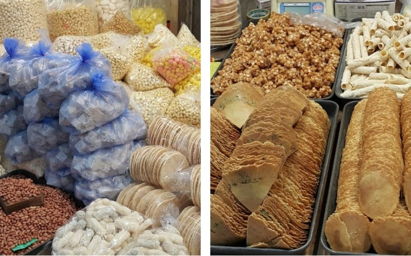 mangwon market snacks