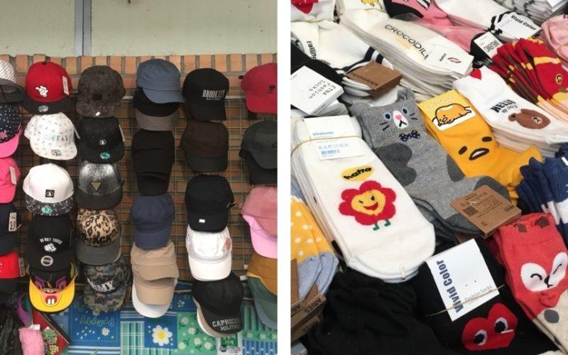 mangwon market socks
