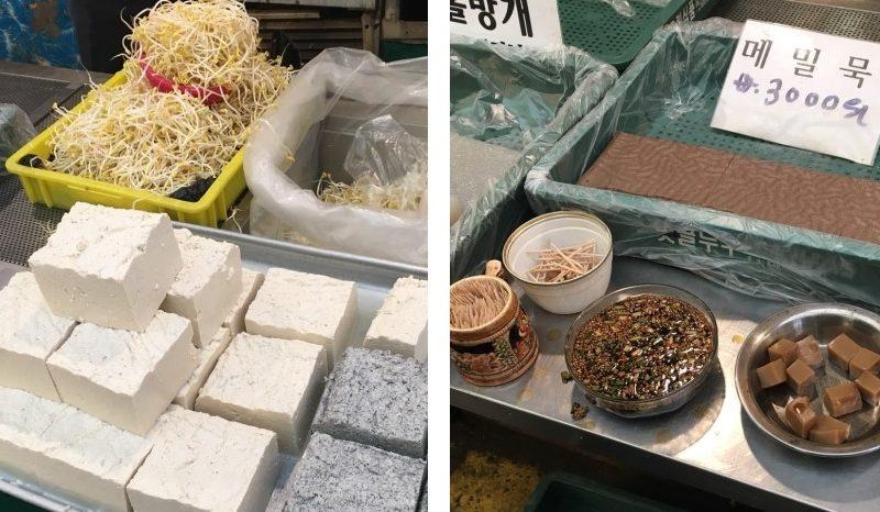 mangwon market tofu