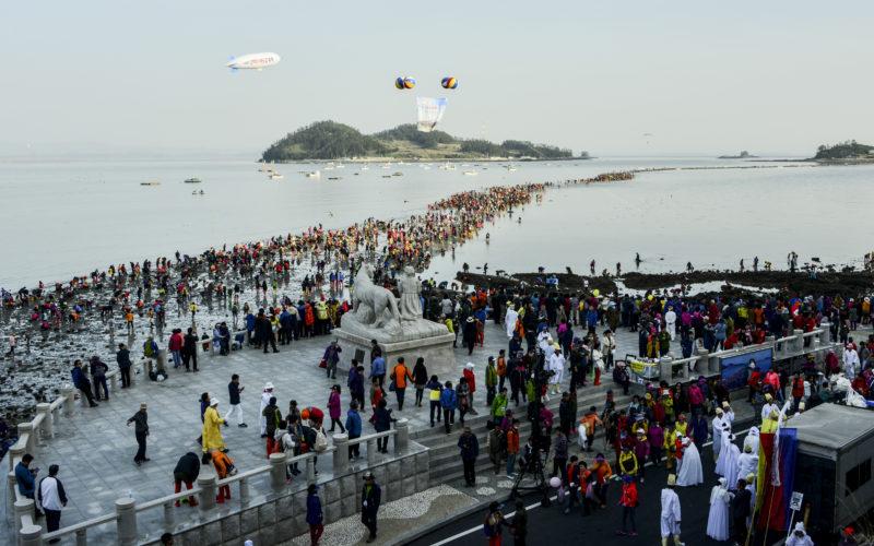 jindo sea road festival crowd2