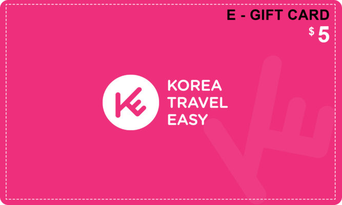 e-gift-card-5usd-korea-travel-easy