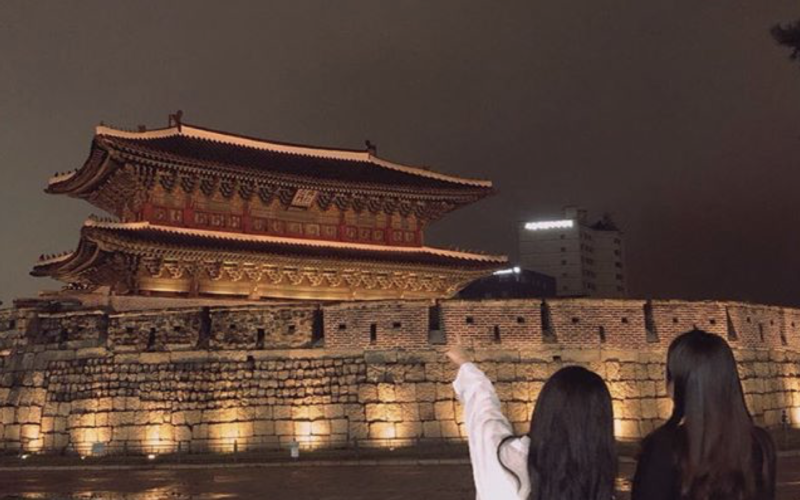 seoul night walking tour dongdaemun