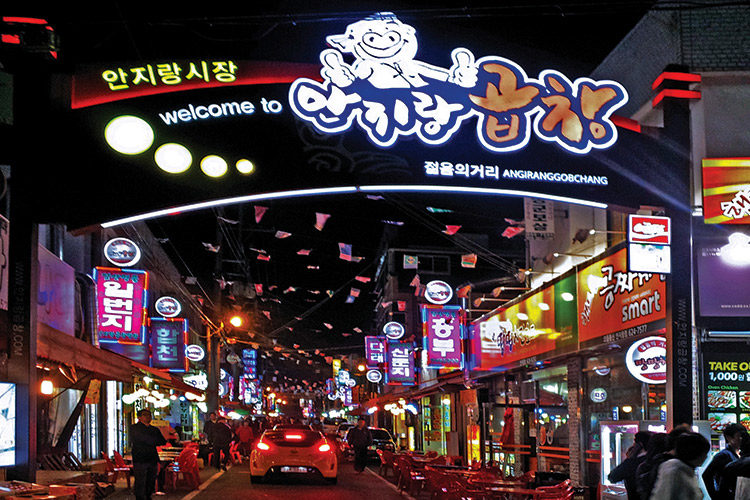 AnJiRang Gopchang Alley
