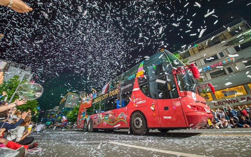 Daegu City Tour Bus