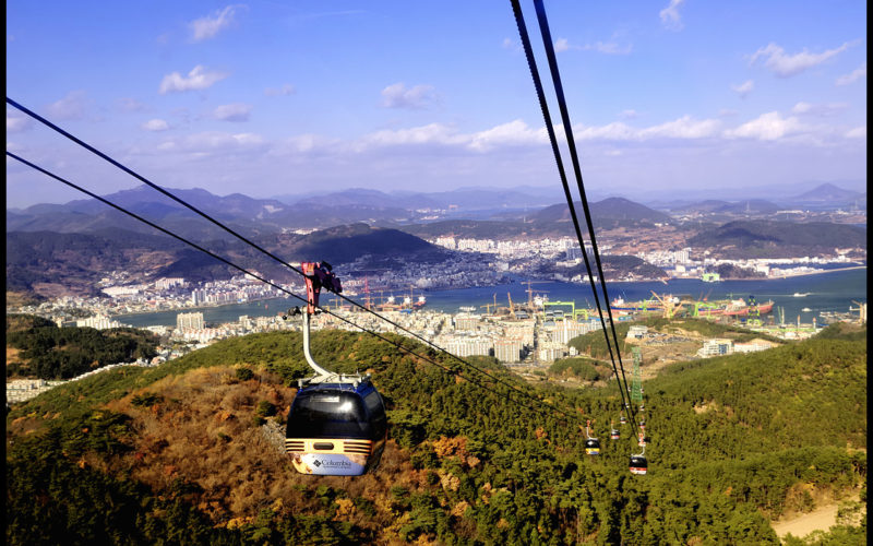 tongyeong cable car