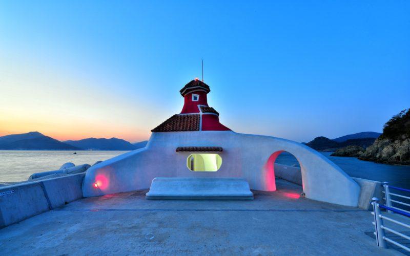 oedo island building