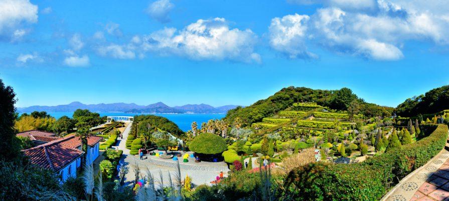 oedo island panorama