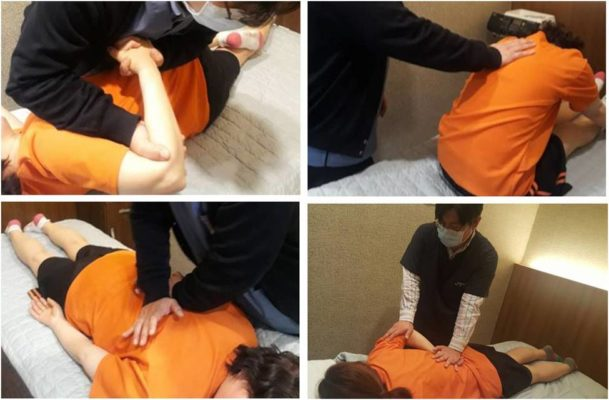 Chiropractic session