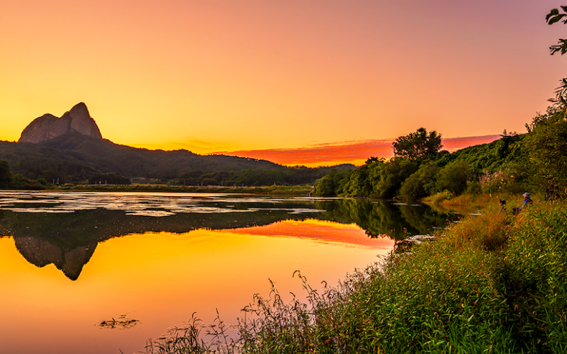 Maisan sunset