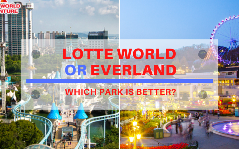 lotte world vs everland blog cover