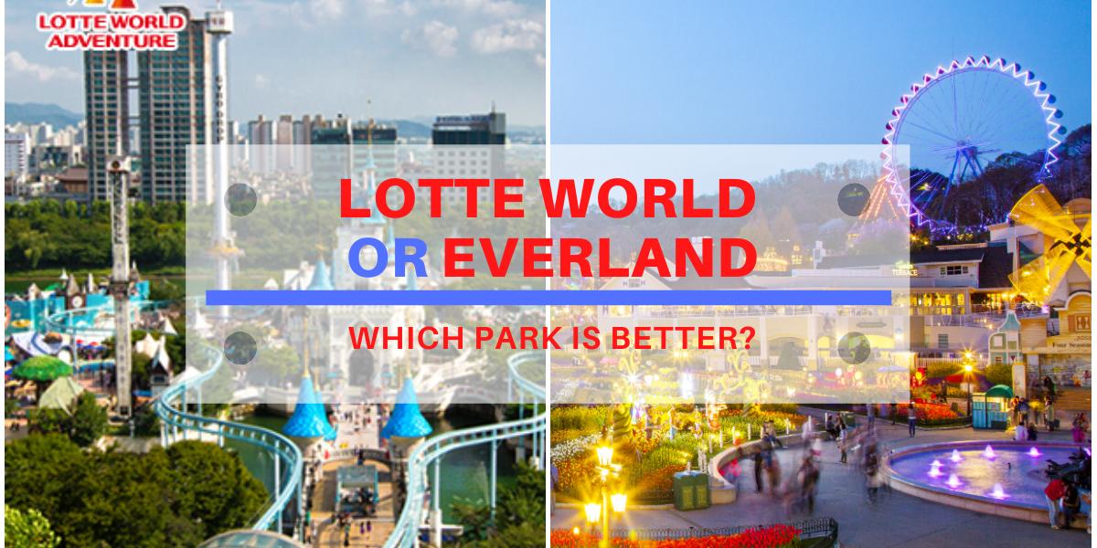lotte world vs everland blog cover