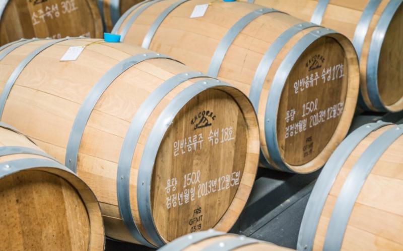 woori sool brewery storage